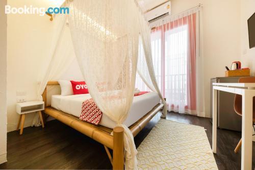 Pequeño apartamento parejas en Bangkok.