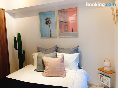 One bedroom apartment place in Tokyo. Small!.