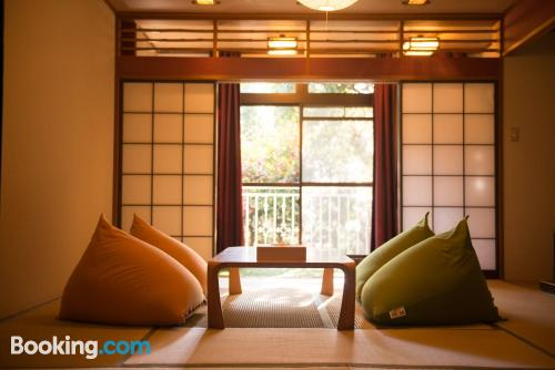 In Yugawara with heat and internet