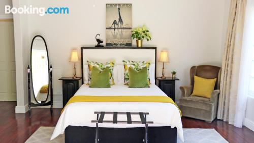 Terrace and internet home in Franschhoek for two people