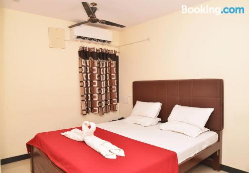 Apartamento de 28m2 en Madurai con terraza.