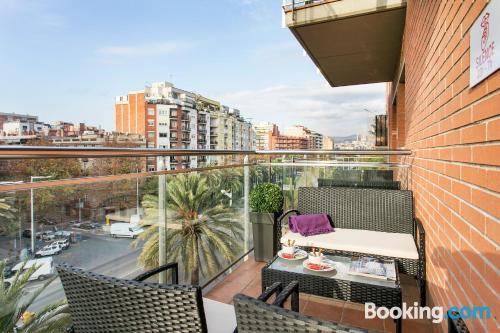 Apartamento en Barcelona con conexión a internet