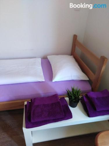 Stay cool: air-con home in Subotica with heating