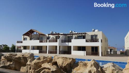 Apartment with terrace in Peyia.