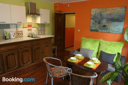 Apartamento pequeño ¡Con vistas!
