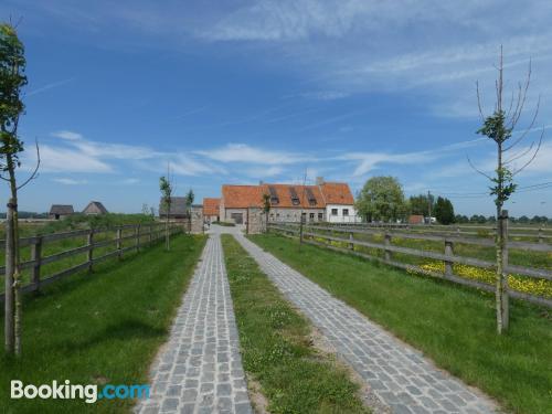 Place in De Haan with terrace