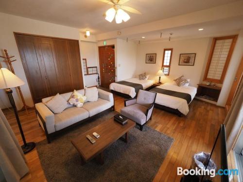 Espacioso apartamento de dos habitaciones. Perfecto para grupos.