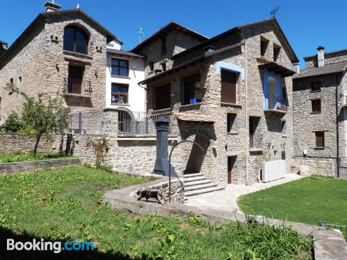 One bedroom apartment in Boltaña with terrace and wifi