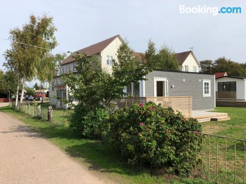Place in Mellbystrand. Petite and in superb location