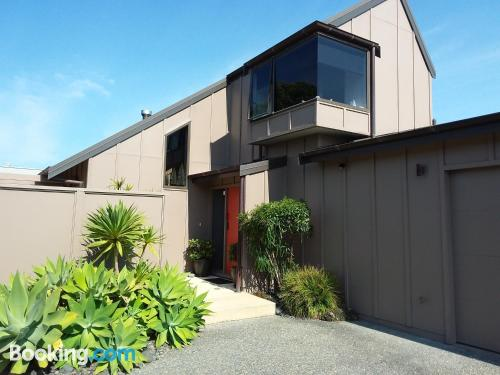 Apartment in Whangamata with heating and internet