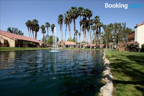 In Palm Desert with air