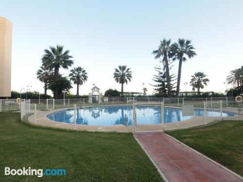 Apartment in Benalmadena with terrace!.
