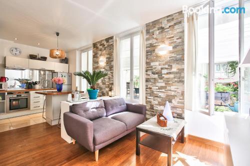 Tiny apartment. Good choice for couples!