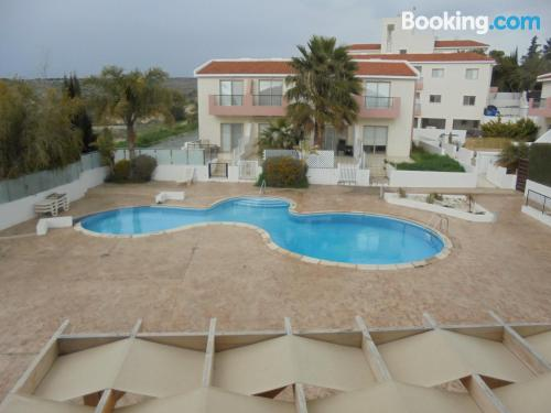 Apartment in Erimi with terrace and pool.