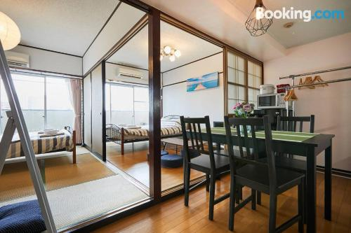Apartment with internet with 2 rooms.