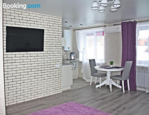 Place in Gomel with heat and internet