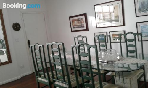 Apartment in Santos with internet.