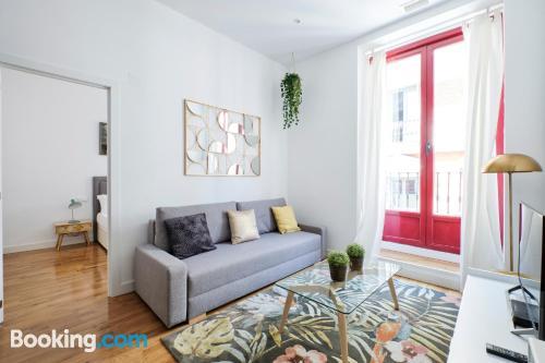 Ideal apartamento de una habitación con vistas.