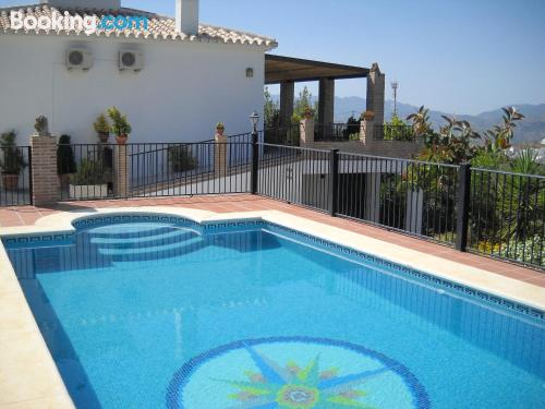 Spacious home with terrace and swimming pool.