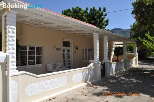 Home in Graaff-Reinet with terrace and pool.