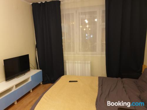 Two bedrooms place. Comfy!.