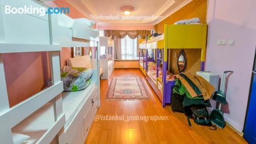 Pets allowed one bedroom apartment in Istanbul.