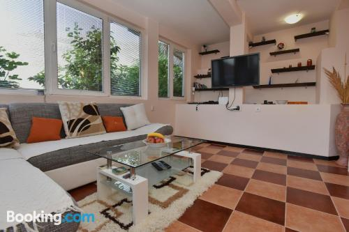 2 bedrooms place in Kotor convenient for 6 or more.