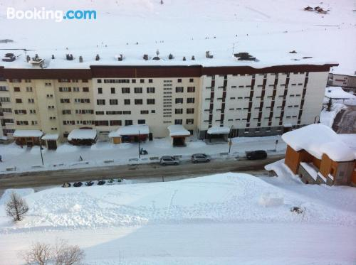 Good choice 1 bedroom apartment in amazing location of Tignes