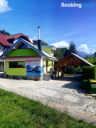 Apartamento con terraza en Zgornje Gorje