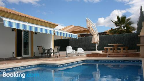Place with internet, swimming pool and terrace
