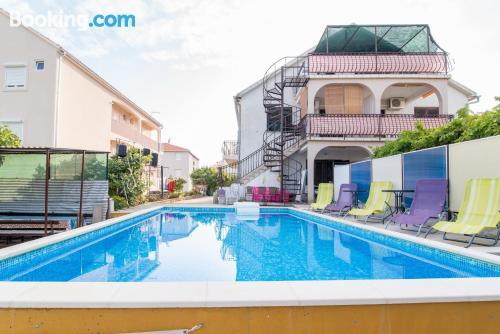 Apartamento de 40m2 en Trogir con terraza y conexión a internet