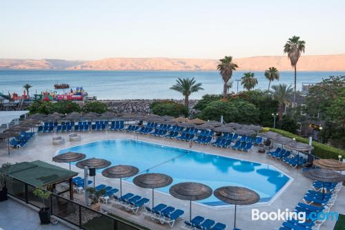 Place for couples in Tiberias with terrace