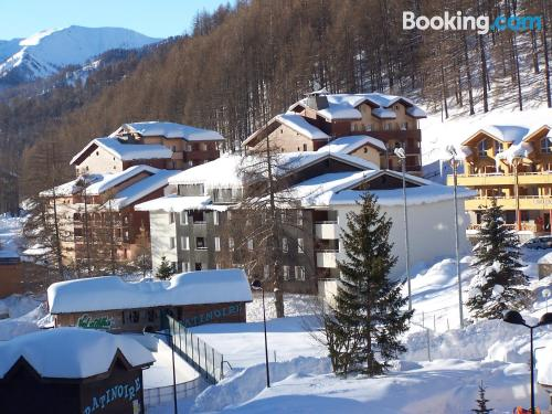 1 bedroom apartment home in Allos perfect for 6 or more.