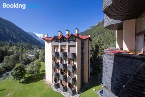 Apartment in Chamonix. Perfect!