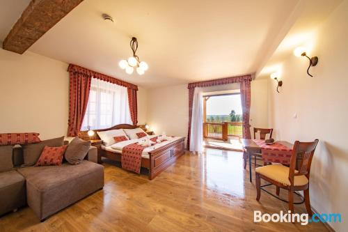 Comfy place in Borovany with terrace.