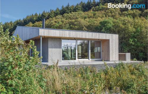 80m2 home in Lyngdal with wifi.