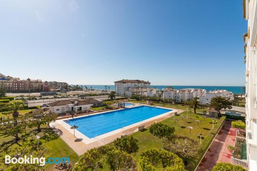 Place in Torrox with swimming pool.