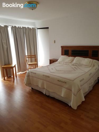 Apartamento de tres habitaciones. Perfecto para cinco o más