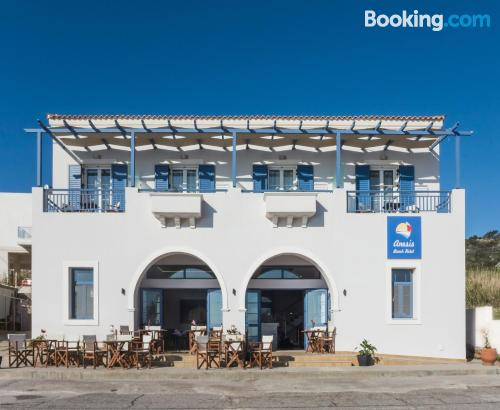 Home for two in Agia Pelagia Kythira with air-con.