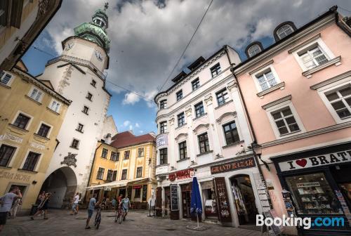 Apartment in Bratislava with air-con