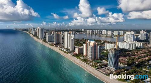 In Sunny Isles Beach with air-con