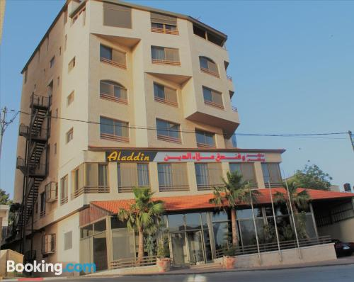 Place in Ramallah. Cot available