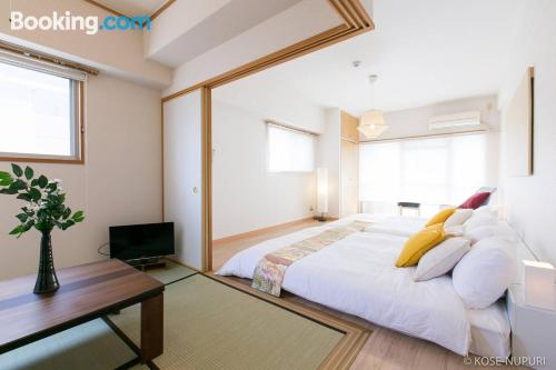 Downtown apartment in Hiroshima.