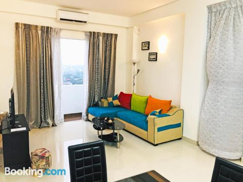 Apartment with terrace in Dehiwala.