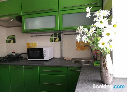 1 bedroom apartment home in Kobryn with wifi.