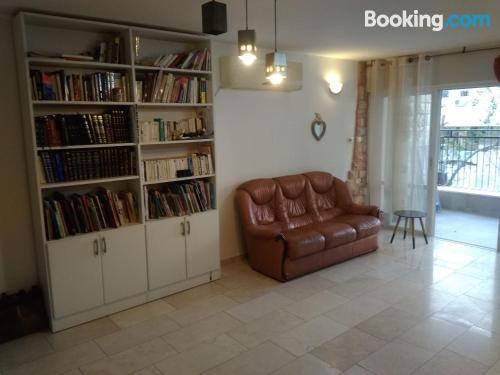 75m2 place in Jerusalem with internet.