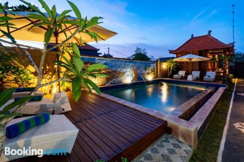 Apartment in Lembongan. Good choice!