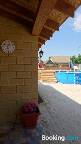Best location and air in Gribovka with terrace.