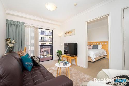 Apartamento con piscina y aire acondicionado en Perth