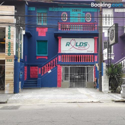 Place in Santos. Convenient!.